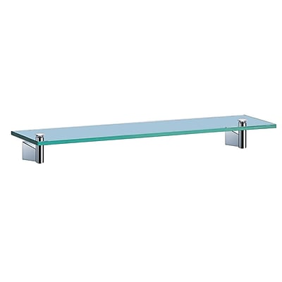 Gatco Bleu Wall Shelf; Chrome