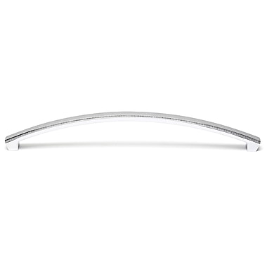 Alno Appliance Pulls 10'' Center Arch Pull; Polished Chrome