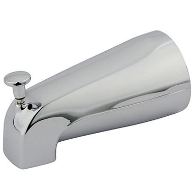 Kingston Brass Made to Match Zinc Diverter Tub Spout; Polished Chrome