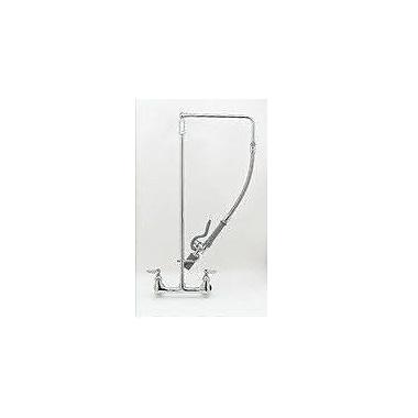 T&S Brass Stainless Steel Flexible Hose; 24''