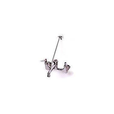 T&S Brass Centerset Sink Faucet w/ Single Lever Handle