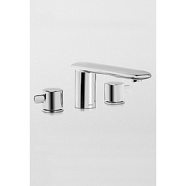 Toto Aquia Two Handle Deck Mount Tub Only Faucet; Polished Nickel