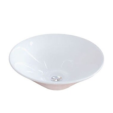 Elements of Design Soho Circular Vessel Bathroom Sink