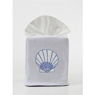 Jacaranda Living Scallop Tissue Box Cover