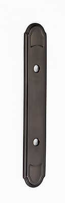 Alno Classic Traditional Backplate; Chocolate Bronze