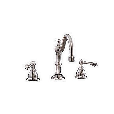 Strom Plumbing by Sign of the Crab Double Handle Widespread Bathroom Faucet; Chrome