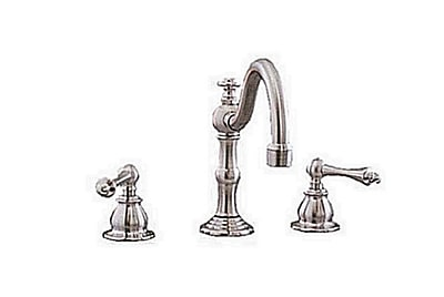 Strom Plumbing by Sign of the Crab Widespread Bathroom Faucet; Chrome