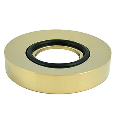 Elements of Design South Beach Mounting Vessel Sink Ring; Polished Brass