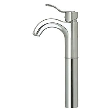 Whitehaus Collection Wavehaus Single Hole Bathroom Faucet w/ Single Handle; Polished Chrome