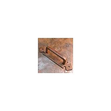 Artesano Iron Works 4 1/2'' Center Bar Pull; Oxidized