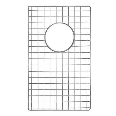 Native Trails Sink 10'' x 17'' Bottom Sink Grid; Stainless Steel