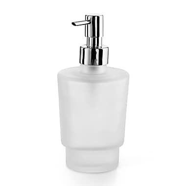 WS Bath Collections Napie Soap Dispenser; Frosted Glass