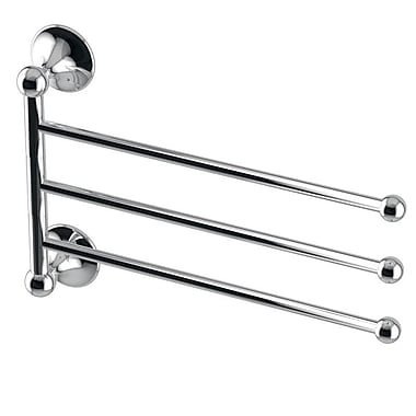 WS Bath Collections Vanessia Flexible Wall Mounted Towel Bar