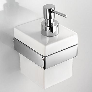 WS Bath Collections Skuara Soap Dispenser