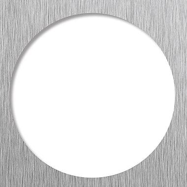 Tile Redi 5.75'' Grid Shower Drain; Brushed Nickel