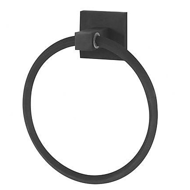Alno Contemporary II Wall Mounted Towel Ring; Bronze