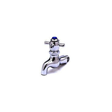 T&S Brass Wall Mounted Faucet w/ Double Cross Handles