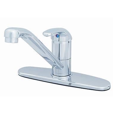 T&S Brass One Handle Centerset Kitchen Faucet