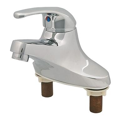 T&S Brass Centerset Bathroom Faucet w/ Single Lever Handle