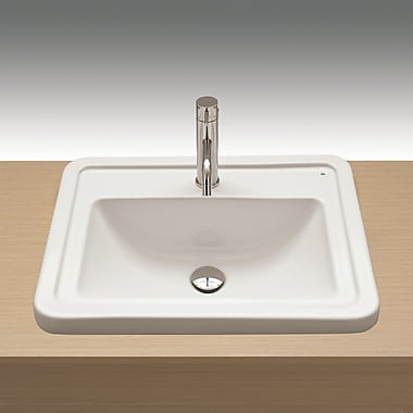 Bissonnet Universal Self Rimming Bathroom Sink