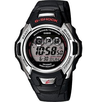 Casio® GWM500A-1 G-Stock Men's Digital Solar Atom Sports Wrist Watch, Black