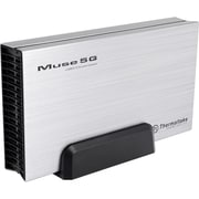 "Thermaltake® Muse 5G 3.5"" USB 3.0 External Hard Drive Enclosure, Silver"