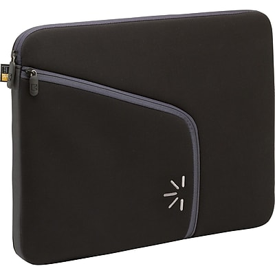 """""Case Logic Neoprene Sleeve For 13.3"""""""" Laptop, Black"""""" 896567"