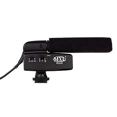 MXL FR310 Wired Shotgun Microphone, Black