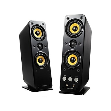 Creative® Labs GigaWorks T40 Series II 32 W 2.0 High-End Speakers, Black