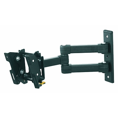 AVF Eco-Mount™ EL104B-A Multiposition Dual Arm TV Mount For Flat-Panels Up To 33 lbs.