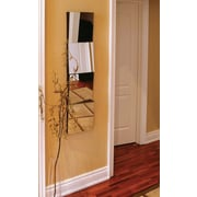 """Nexxt FN81472-3INT 12"""" x 12"""" Square Frameless Wall Mirror, Set of 4"""