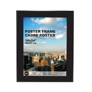 "Kiera Grace PH00103-0FF Wood 18"" x 24"" Picture Frame, Black"