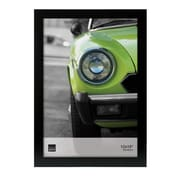 "Nexxt Langford Wood Poster Frame with Glass, 12"" x18"", Black"