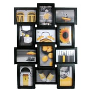 "Nexxt Curve Picture Collage Wall Frame, 4"" x 6"", Black"