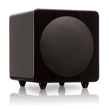 Kanto SUB8GB Powered Subwoofer, Gloss Black
