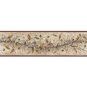 Inspired by Color™ Country & Lodge Carolina Vine Border, Khaki