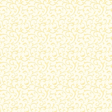 Inspired By Color™ Orange & Yellow Cottage Walk Scroll Wallpapers