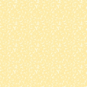 Inspired By Color™ Orange & Yellow Cottage Walk Scroll Wallpaper, Yellow With White