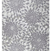 Inspired By Color™ Pink & Purple Toss The Bouquet Wallpaper, Silver Glitter With Purple/Gray