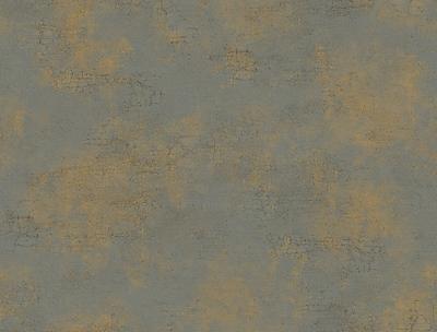 Inspired By Color™ Metallics Delia Damask Texture Wallpaper, Dark Gray With Bronze/Tan