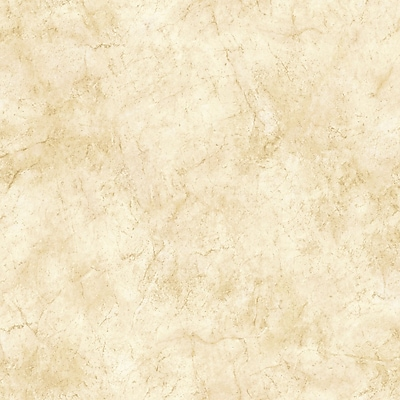 Inspired By Color™ Beige Marble Wallpaper, Cream With Tan/Light Brown/Palest Pink