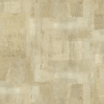 Inspired By Color™ Beige Tissue Paper Blocks Wallpaper, Tan With Brown/Silver