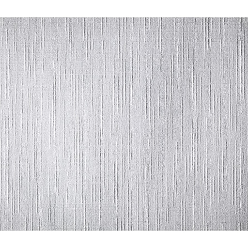 Inspired By Color™ Black & White Patent Decor Paintable Weave Wallpaper, White
