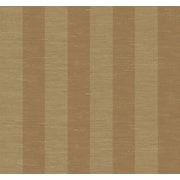 Inspired By Color™ Metallics 3 Wide Stripe Wallpaper, Gold With Silver/Tan