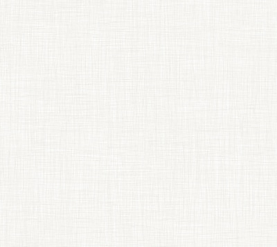 Inspired by Color™ Black & White Linen Wallpaper, White With Metallic Silver