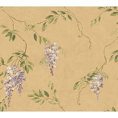 Inspired By Color™ Metallics Wisteria Wallpapers