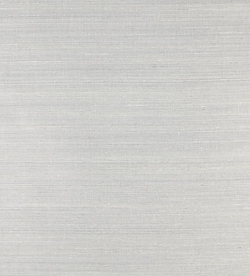 Inspired By Color™ Grasscloth Impression Wallpaper, Gray With Silver