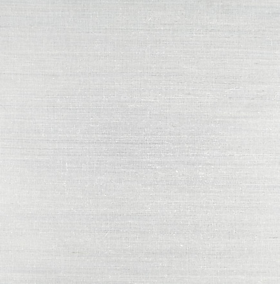 Inspired By Color™ Grasscloth Impression Wallpaper, Silver With Gray