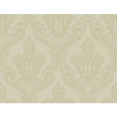 Inspired By Color™ Metallics Bethesda Wallpaper, Green With Gray