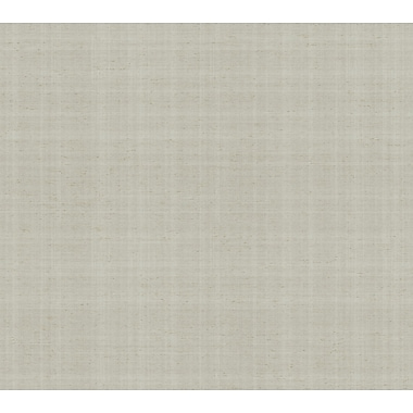 Inspired By Color™ Metallics Texture Wallpaper, Silver With Gray